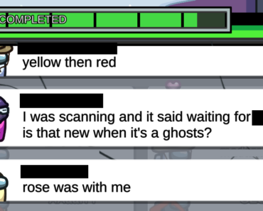 One of the perks of getting killed first is you get to troll people who come to scan in medbay.