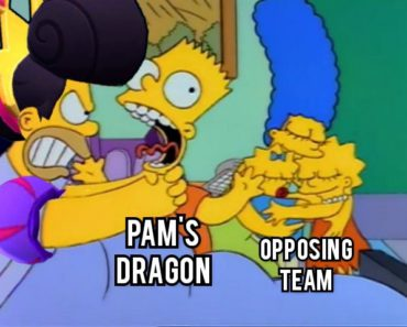 When Evil Queen Pam loses 3v3
