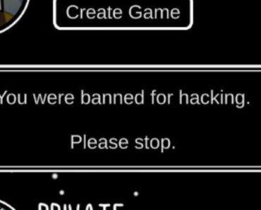 why was i banned for hacking, i was talking to my long lost son