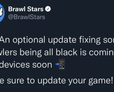 Brawl Stars Twitter: 👋An optional update fixing some Brawlers being all black is coming to iOS devices soon 📲 — Make sure to update your game!